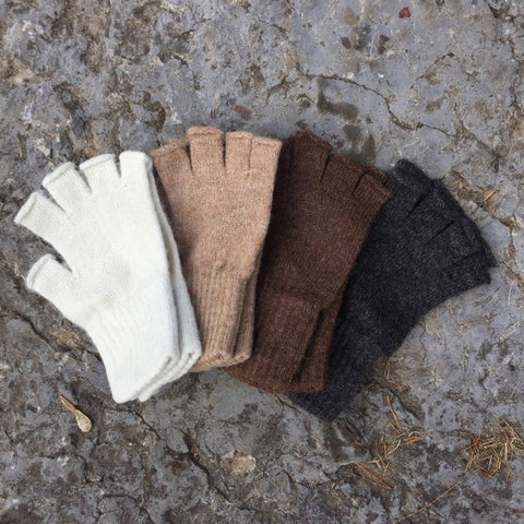 Mid-weight Fingerless Gloves