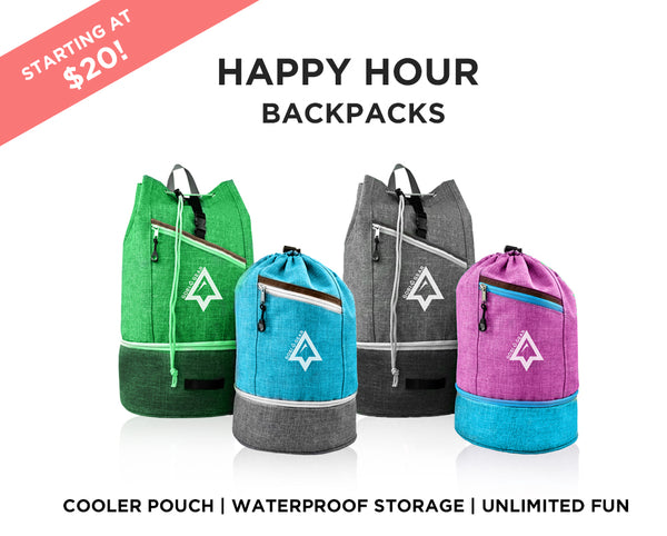 Happy Hour Backpack - Preorder Only