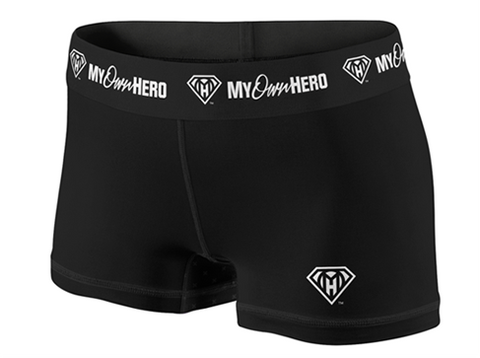 My Own Hero™ - Compression Shorts - All Black