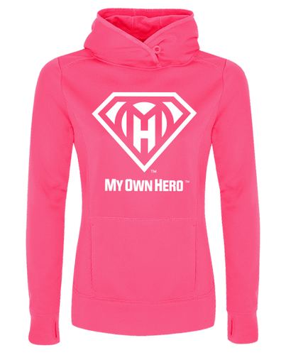 My Own Hero™ Ladies' Hooded Fleece