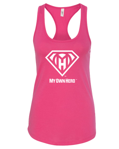 My Own Hero™ Women's Racerback Tank - Raspberry