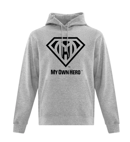 My Own Hero™ Pullover Hoodie - Athletic Grey