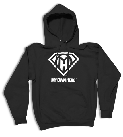 My Own Hero™ Pullover Hoodie - Black