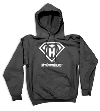 Load image into Gallery viewer, My Own Hero™ Pullover Hoodie - Dark Heather Grey
