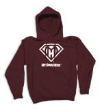 My Own Hero™ Pullover Hoodie - Burgundy