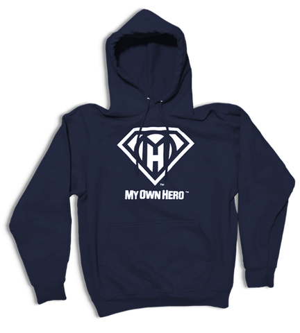 My Own Hero™ Pullover Hoodie - Navy
