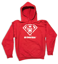 Load image into Gallery viewer, My Own Hero™ Pullover Hoodie - Red