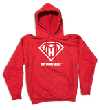 My Own Hero™ Pullover Hoodie - Red
