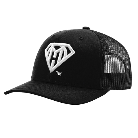 My Own Hero™ Mesh Snapback - Black