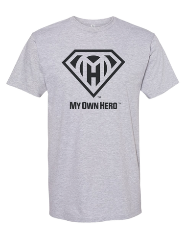 My Own Hero™  Classic Tee - Athletic Grey