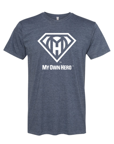 My Own Hero™  Classic Tee - Navy Heather