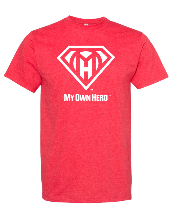 My Own Hero™  Classic Tee - Red Heather