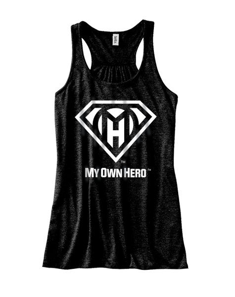 My Own Hero™ Women's Flowy Racerback Tank