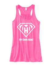 Load image into Gallery viewer, My Own Hero™ Women's Flowy Racerback Tank