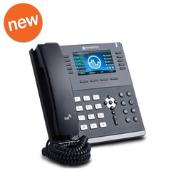 NEW Sangoma S705 IP Phone, 6 SIP Accounts, PoE, Bluetooth, Wi-Fi