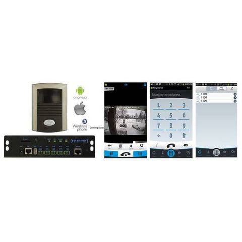 Teleport IP Video Door Station and Controller Bundle