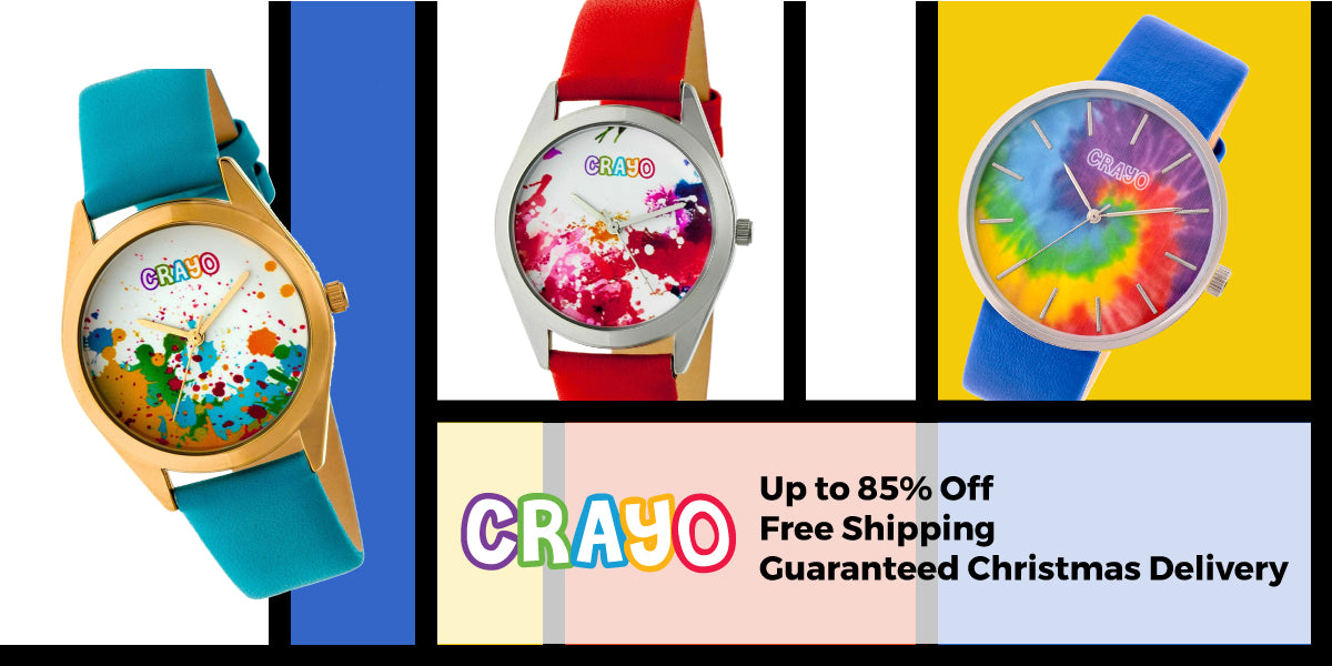 Crayo Watches - save up to 85%