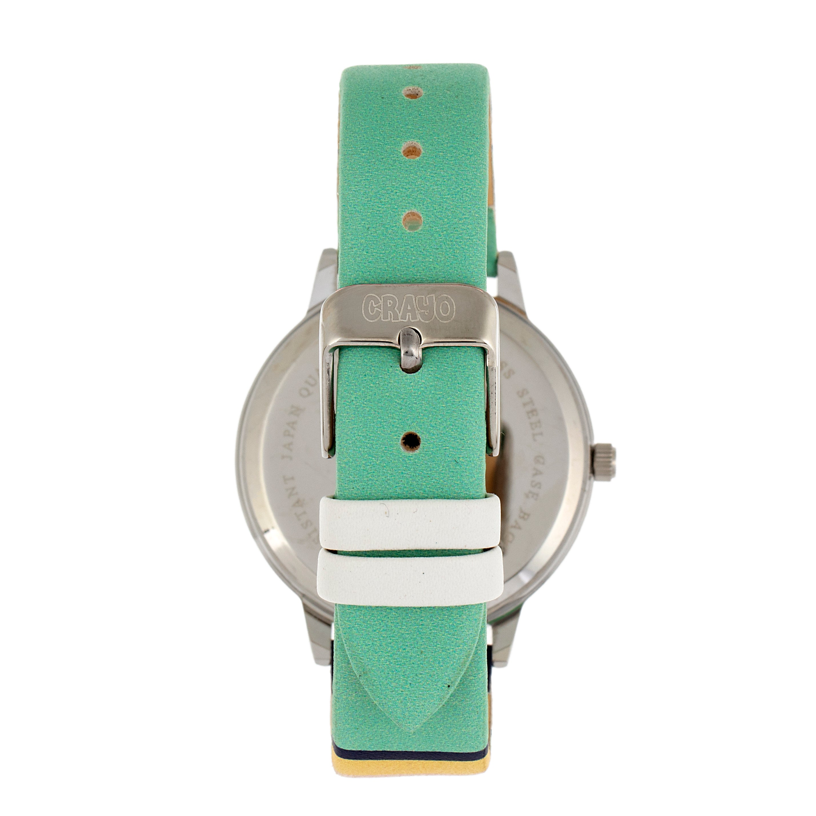 Crayo Swing Unisex Watch - Silver - CRACR5701