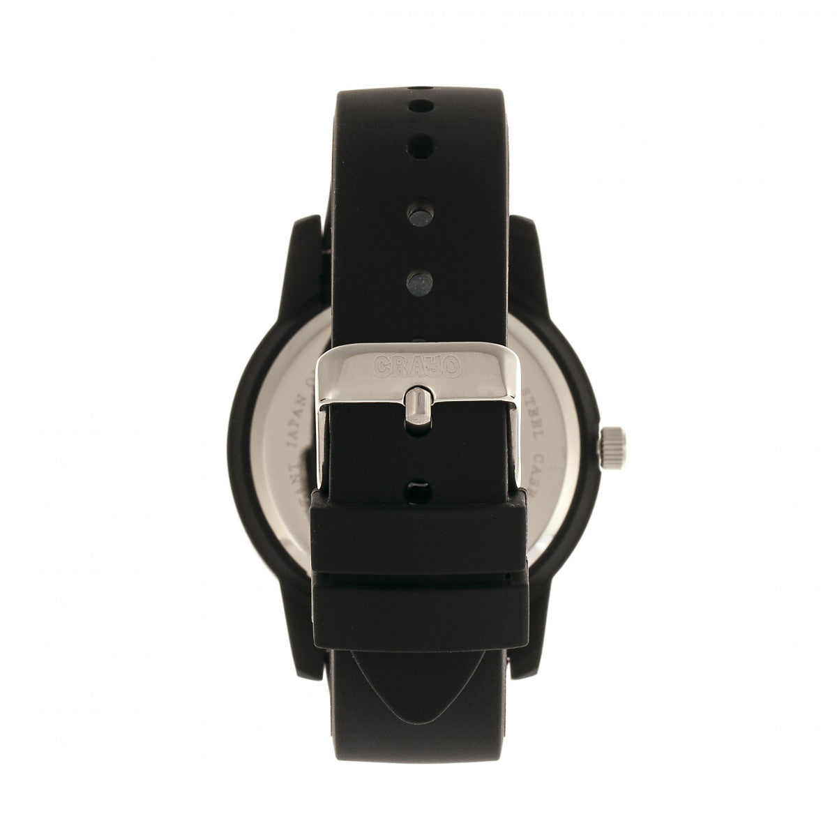 Crayo Festival Unisex Watch w/ Date - Black - CRACR2006