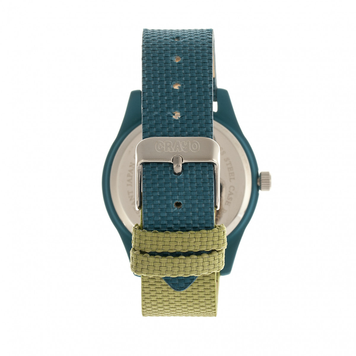 Crayo Pleasant Unisex Watch - Olive/Teal - CRACR3903