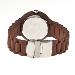 Crayo Muse Unisex Watch w/ Magnified Date - Brown - CRACR1902