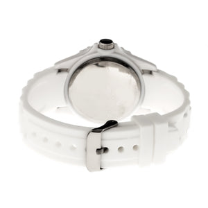 Crayo Shrine Unisex Watch w/ Magnified Date - White - CRACR3001