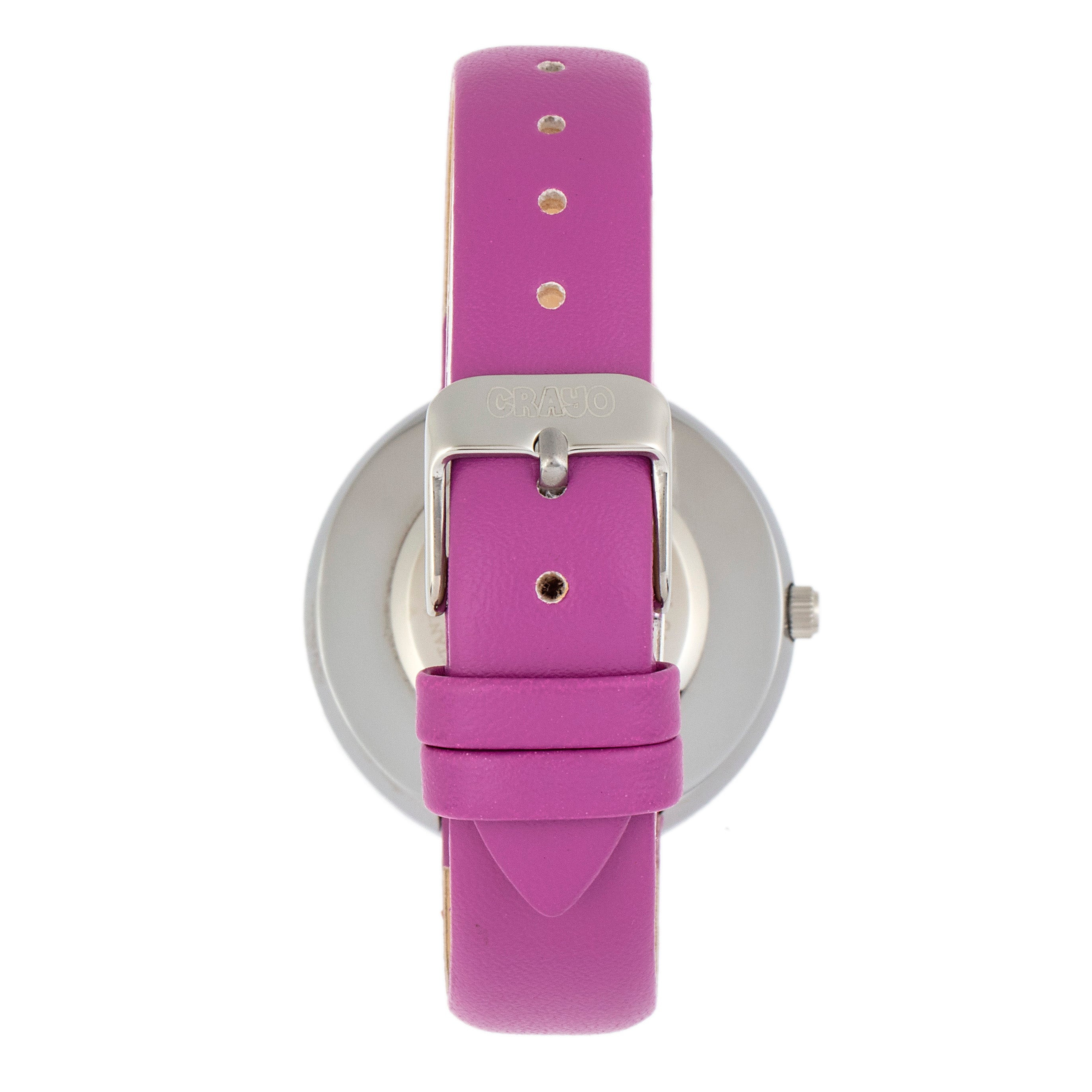 Crayo Metric Unisex Watch - Purple  - CRACR5803