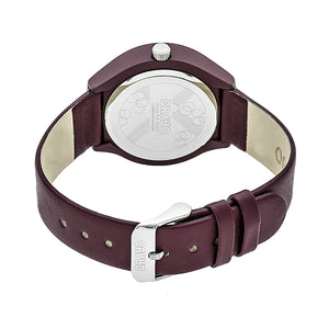 Crayo Atomic Unisex Watch - Maroon - CRACR3503