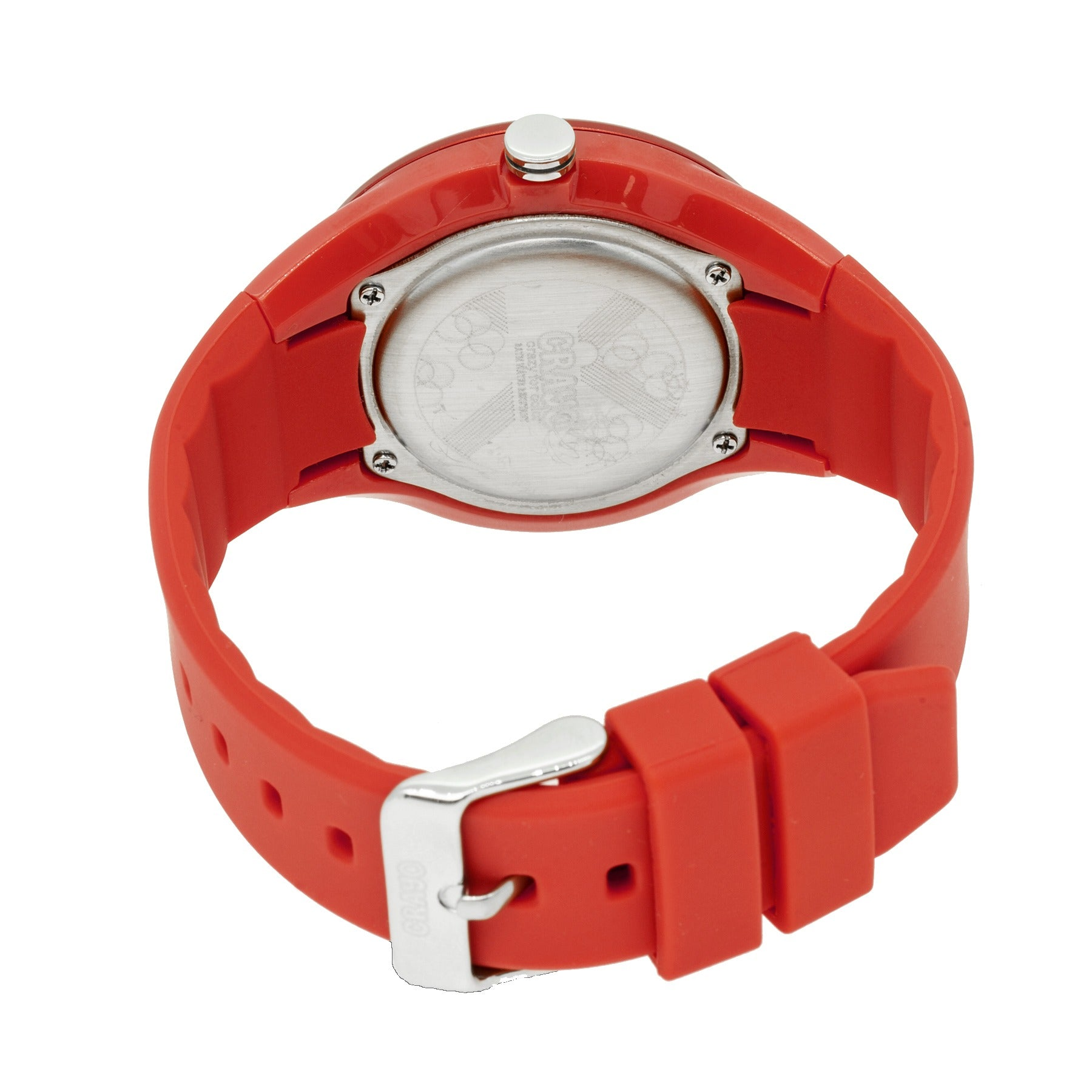Crayo Burst Ladies Watch - Red/Yellow - CRACR3201
