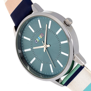 Crayo Swing Unisex Watch - Teal - CRACR5704