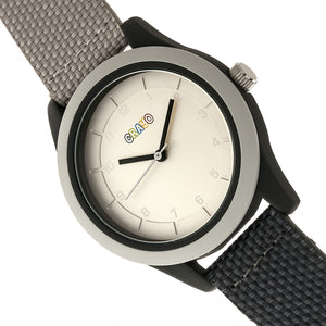 Crayo Pleasant Unisex Watch - Grey/Charcoal - CRACR3908
