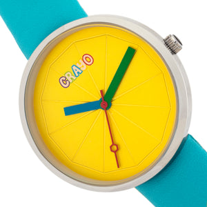 Crayo Metric Unisex Watch - Turquoise  - CRACR5806