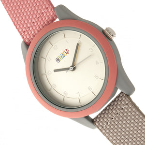 Crayo Pleasant Unisex Watch - Light Pink/Grey - CRACR3907