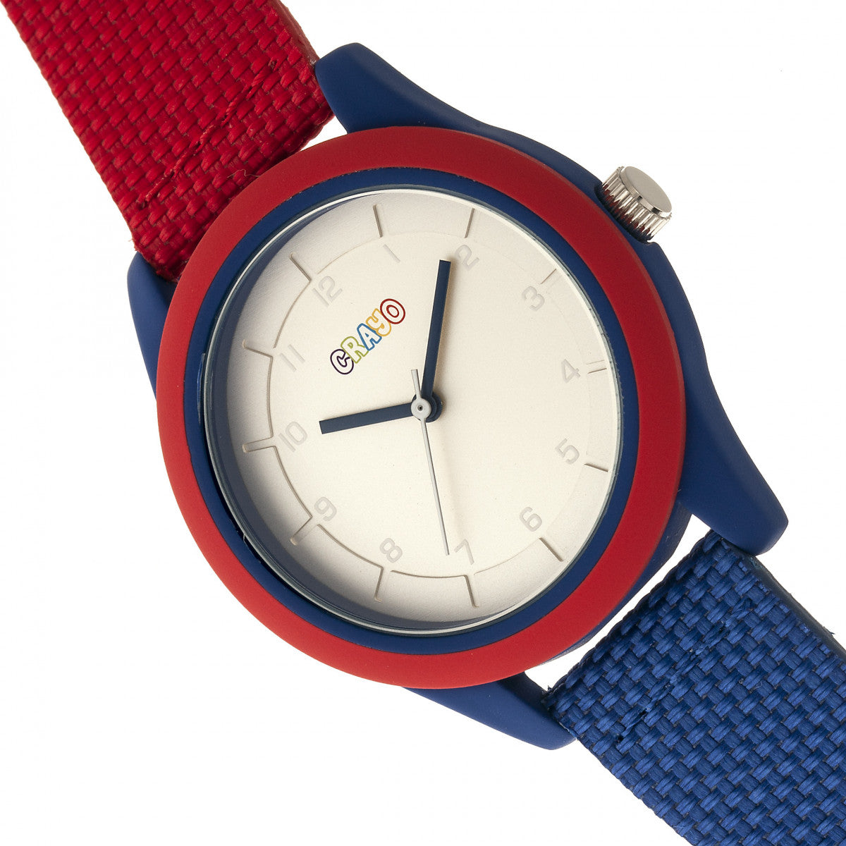 Crayo Pleasant Unisex Watch - Red/Blue - CRACR3901