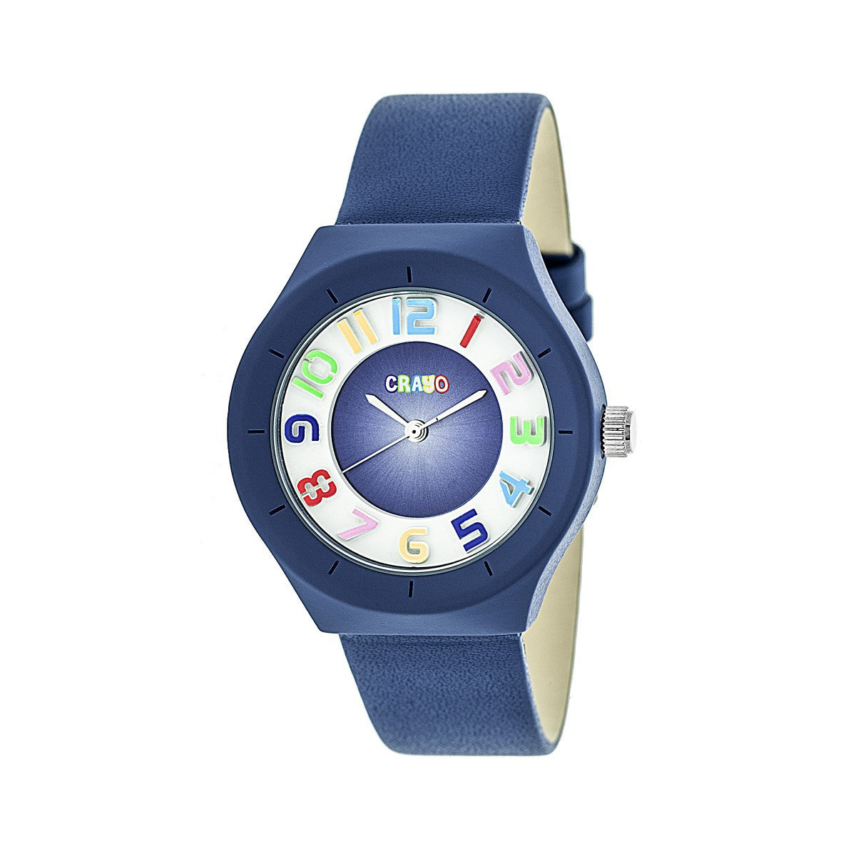 Crayo Atomic Unisex Watch - Blue - CRACR3506