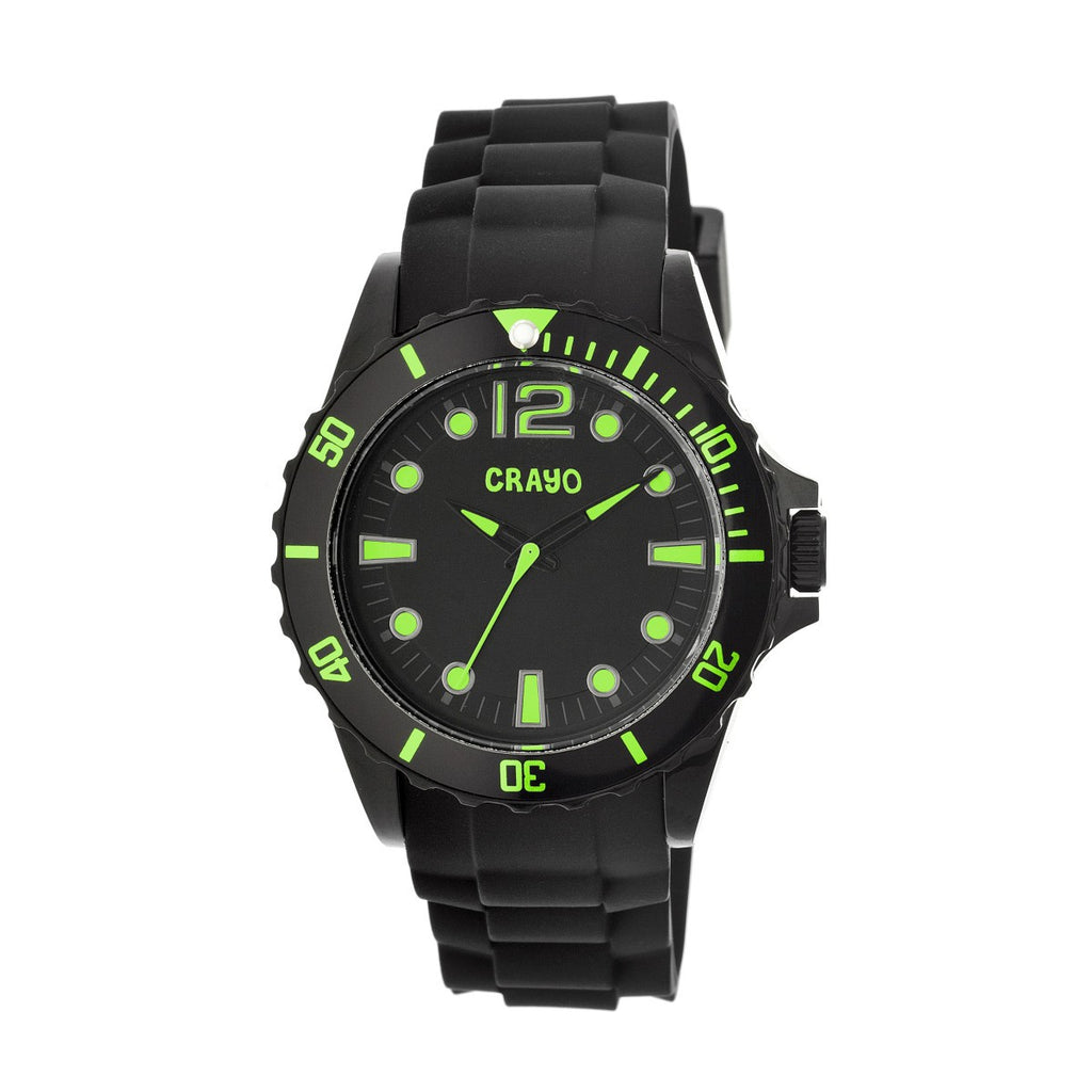 Crayo Fierce Unisex Watch - Green - CRACR2305