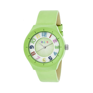Crayo Atomic Unisex Watch - Lime - CRACR3504
