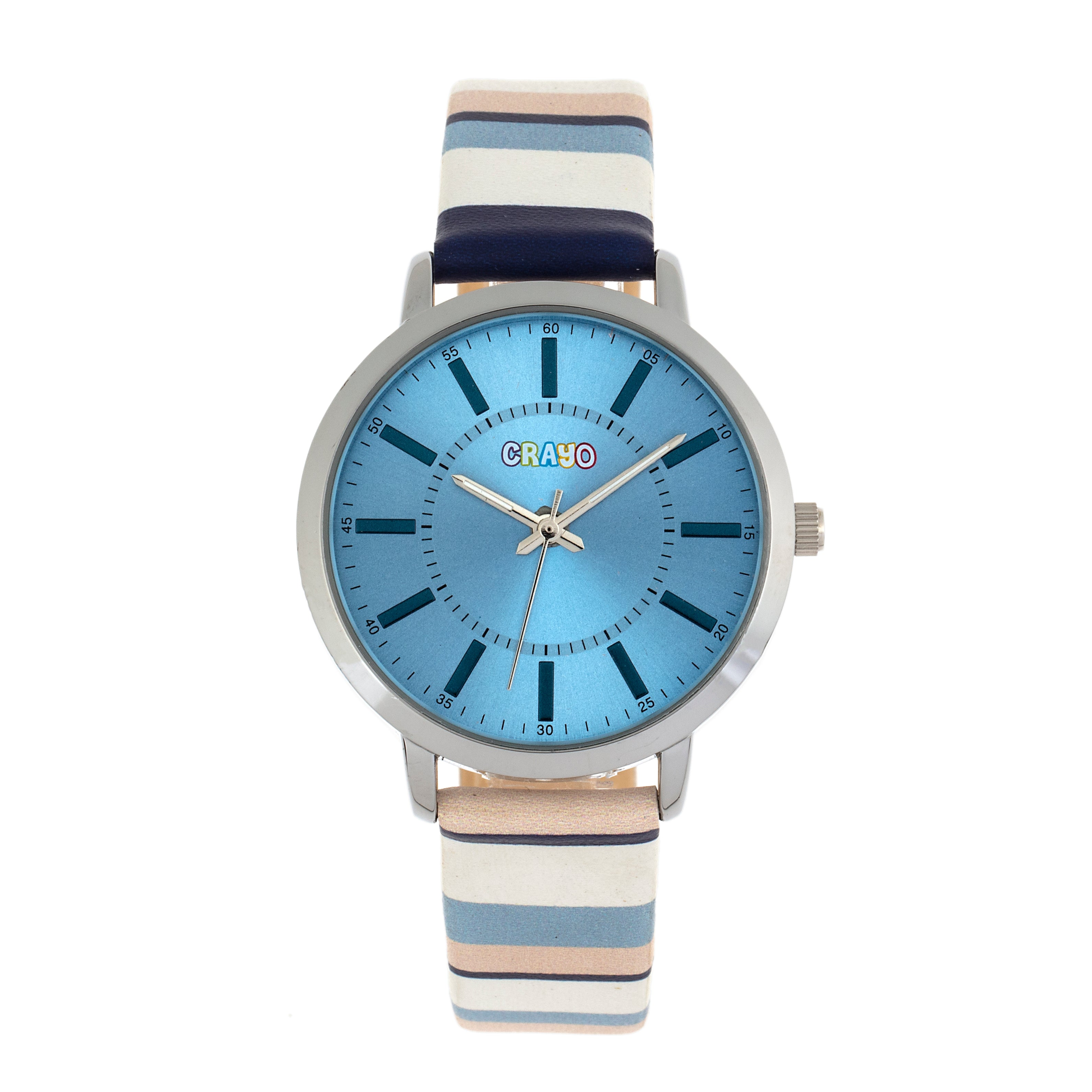 Crayo Swing Unisex Watch - Blue - CRACR5703