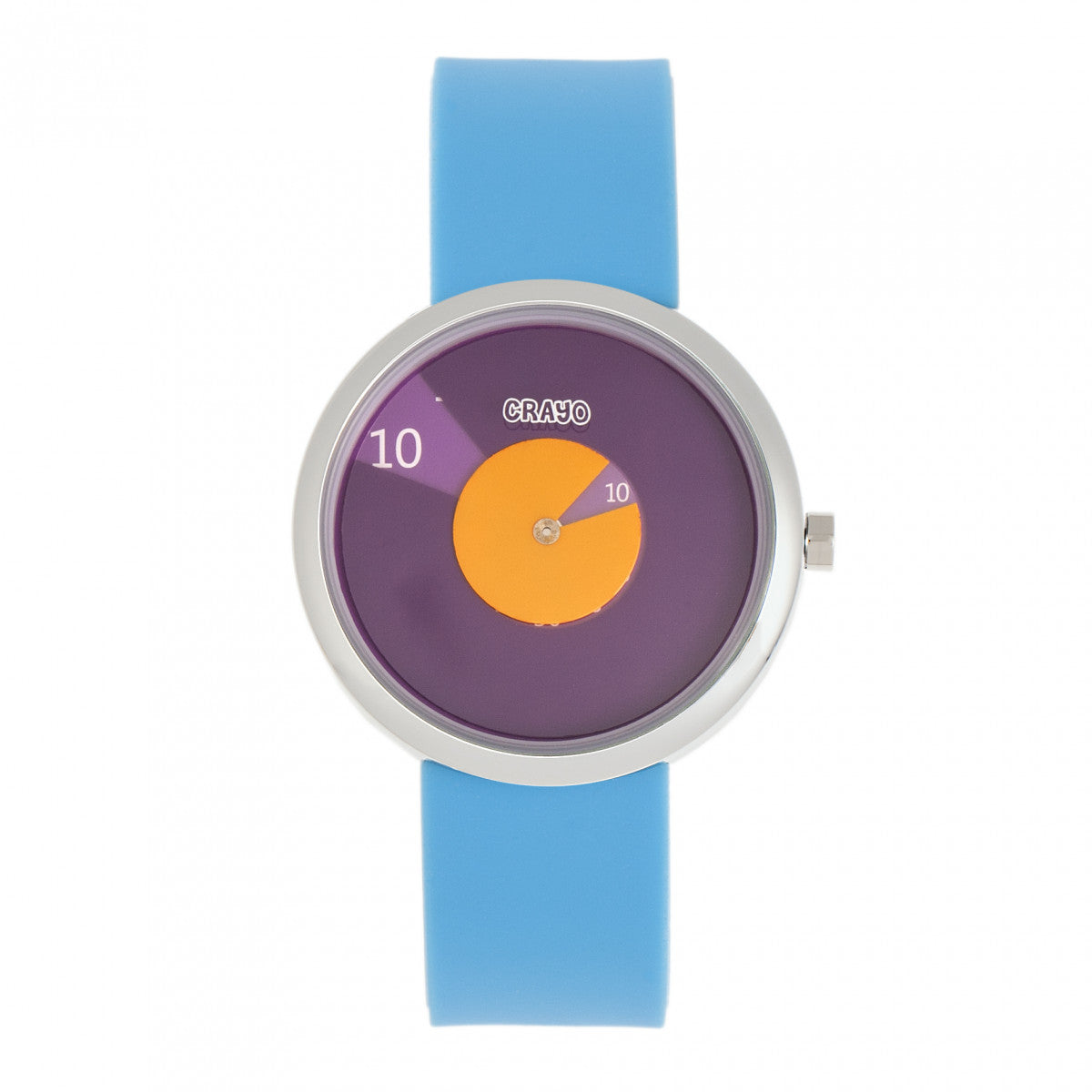 Crayo Pinwheel Unisex Watch - Light Blue - CRACR5203