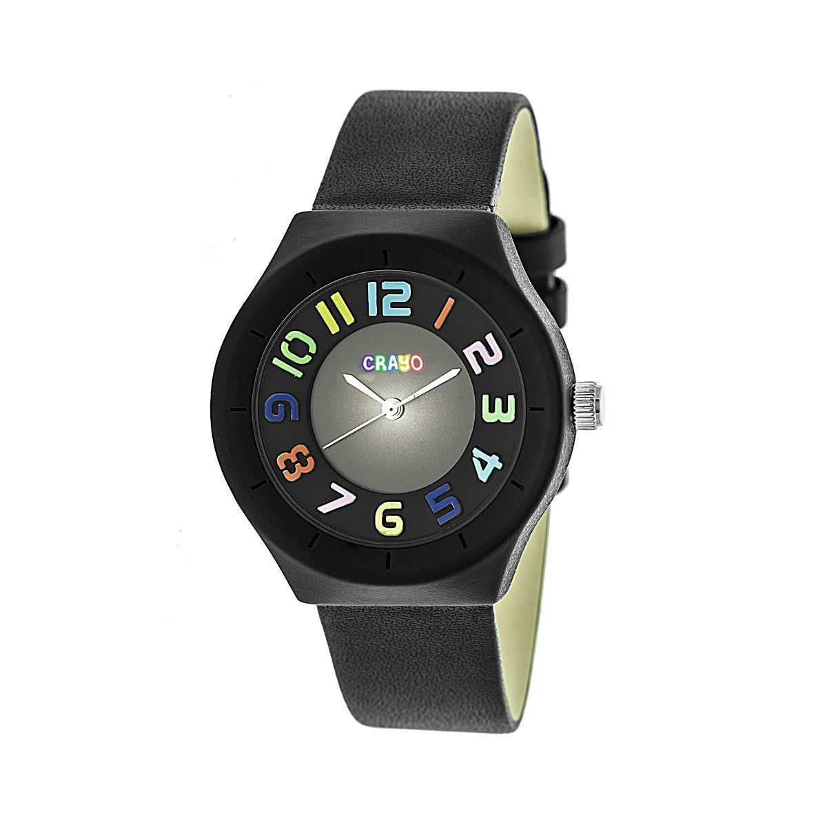 Crayo Atomic Unisex Watch - Black - CRACR3502