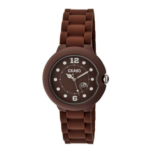 Crayo Muse Unisex Watch w/ Magnified Date