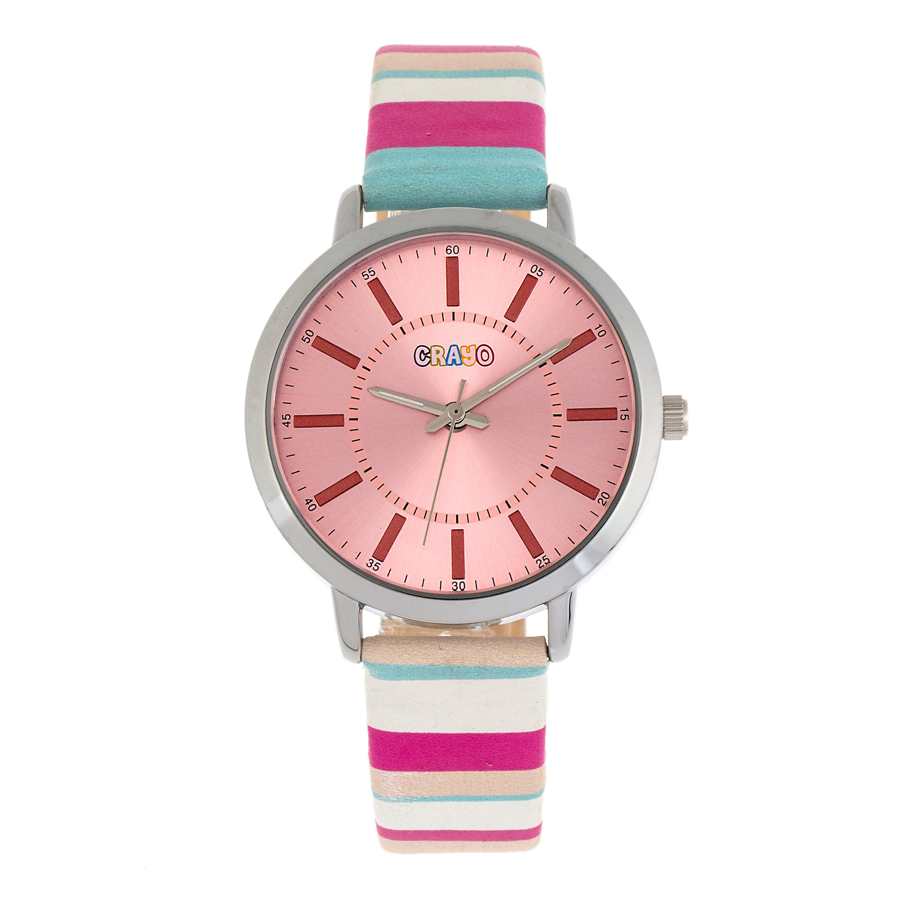 Crayo Swing Unisex Watch - Pink - CRACR5705