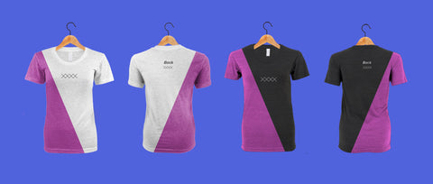 American Apparel TR301 - Tri-blend Women Track T