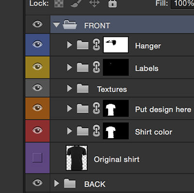 picture of photoshop layers