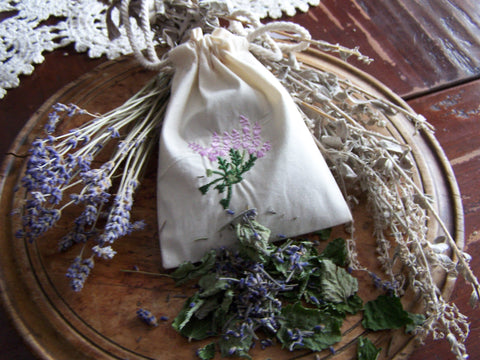 Dream Sachet - Wormwood, Lavender and Lemongrass