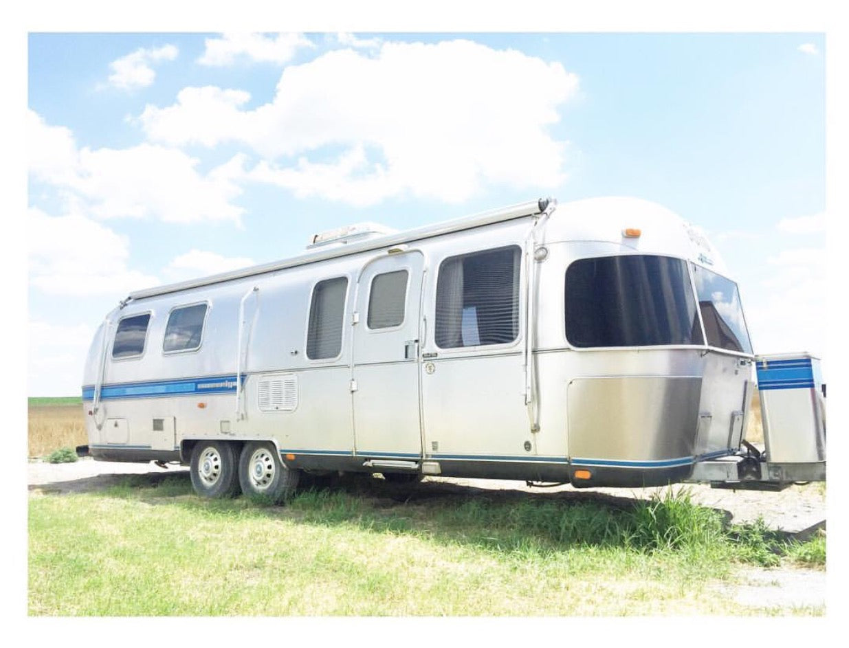 In The Mean Time I Will Just Keep Collecting Campers And Hoarding Them Our Back Pasture Yes Have A Small Camper Collection It Makes My Husband