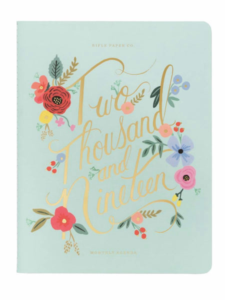 Rifle Paper Co. 2019 Bouquet Stitched Appointment Agenda