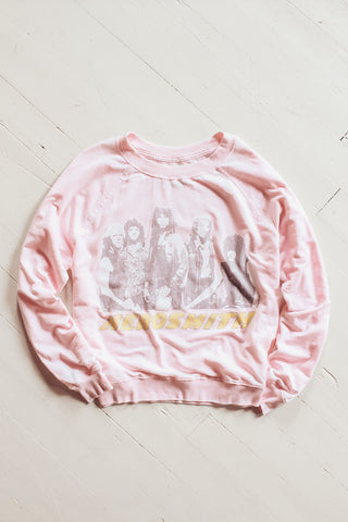 Aerosmith graphic sweatshirt