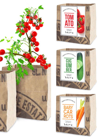 Urban Agriculture Veggie Grow Kits
