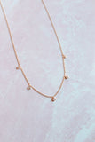 Dainty Clear Stone Necklace